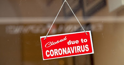 Tutup Karena Virus Corona