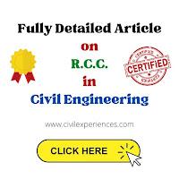 Full form of RCC in Civil Engineering   Uses of RCC   Properties of RCC