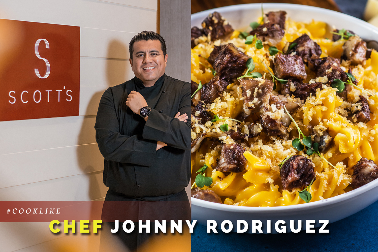 #CookLike Chef Johnny Rodriguez: Short Rib Mac and Cheese