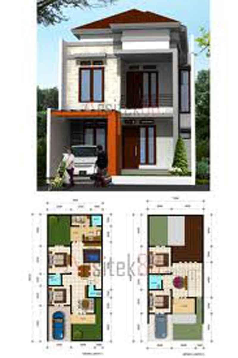60 Desain Rumah Minimalis 6 X 15  Desain Rumah Minimalis