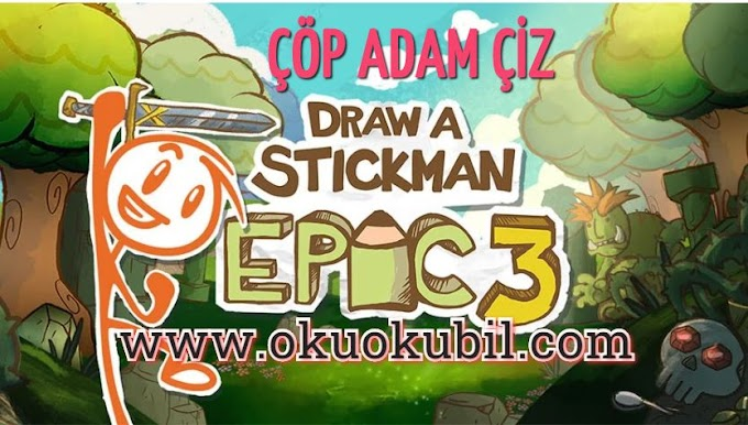 Draw a Stickman EPIC 3 1.2.17320 ÇÖP ADAM Apk + Mod + Data İndir 2020
