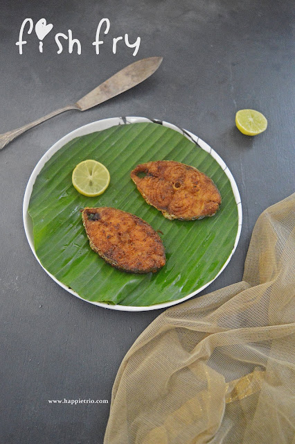 Seer Fish Fry Recipe | Vanjaram Meen Varuval | King Fish Fry