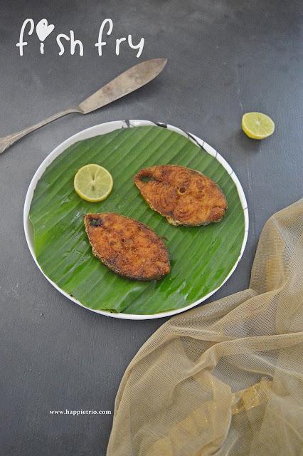 Seer Fish Fry Recipe | Vanjaram Meen Varuval | King Fish Fry