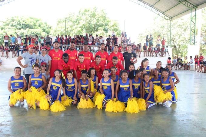 Abertura do Projeto de educação Física nas escolas Municipais em Turilândia