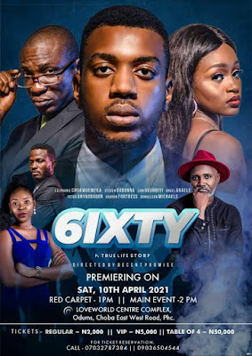 The Movie '6IXTY' Set To Premiere On The 10th of APRIL 2021