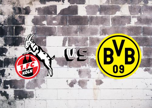Köln vs Borussia Dortmund  Resumen y Partido Completo
