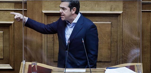 Αλέξης Τσίπρας: «Η δημοκρατία θα σας ρίξει – Τα αυταρχικά καθεστώτα πέφτουν με πάταγο κ. Μητσοτάκη»
