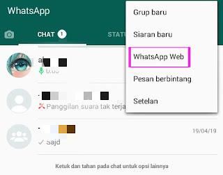 Cara Hack Sadap Aplikasi Whatsapp Dengan Whatsapp Web