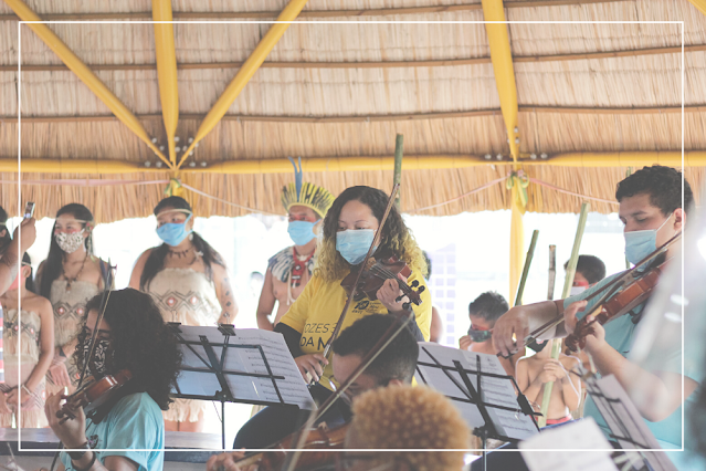 Expedição de reconhecimento dos povos originários ao Pantanal pela Orquestra Maré do Amanhã