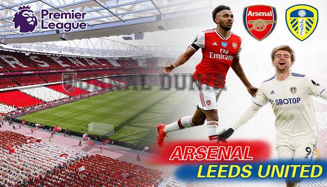Prediksi Arsenal vs Leeds United , Minggu 14 Februari 2021 Pukul 23.30 WIB @NET TV
