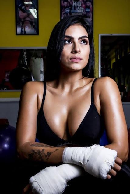 Modelo colombiana cambia las pasarelas por el box; es la boxeadora más sexi del mundo