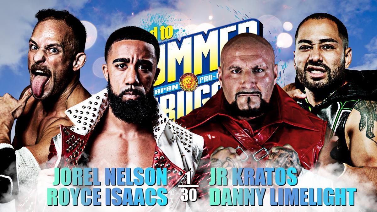 Cobertura: NJPW Road To Summer Struggle USA (06/08/2021) – Contagem regressiva!