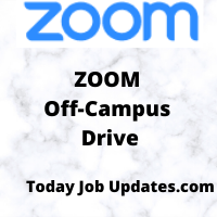 Zoom Off-Campus Recruitment Drive