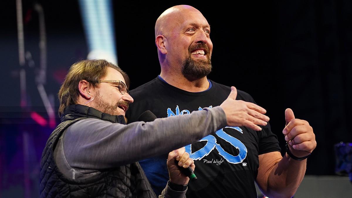 Vince McMahon ligou para parabenizar Paul Wight sobre sua ida para a AEW