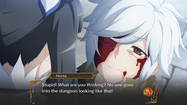 Hestia Bell Is It Wrong to Try to Pick Up Girls in a Dungeon Family Myth - Infinite Combate