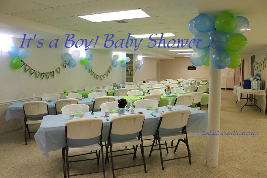 SalleeB's Kitchen: It's a Boy! Baby Shower - Lime Green ...