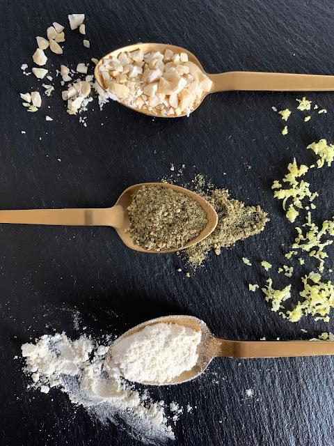 Zitronen-Pfeffer-Knusperstangen, Rezept, glutenfrei, vegan, schnell, einfach, Zitronenpfeffer, Snack, Tante Fine, Gewürzmischung, Prachtkerl