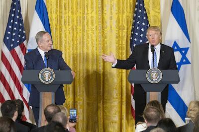 Trump  sugere Estado único para Israel e Palestina