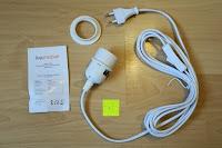 Erfahrungsbericht: kwmobile E27 Lampenfassung 3,5m Weiß - Netzkabel mit Schraubring Schalter - Lampenhalter und Kabel - Pendelleuchte - Lampenaufhängung - Hängeleuchte