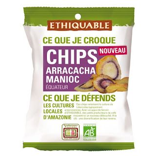 foto de chips de arracacha y yuca