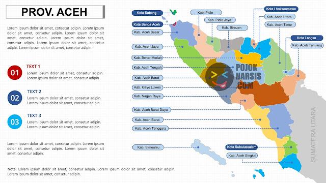 peta ACEH Powerpoint PPTX