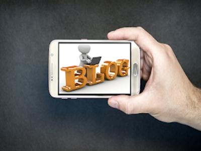 Gambar Cara Membuat Artikel Blog Dengan Smartphone