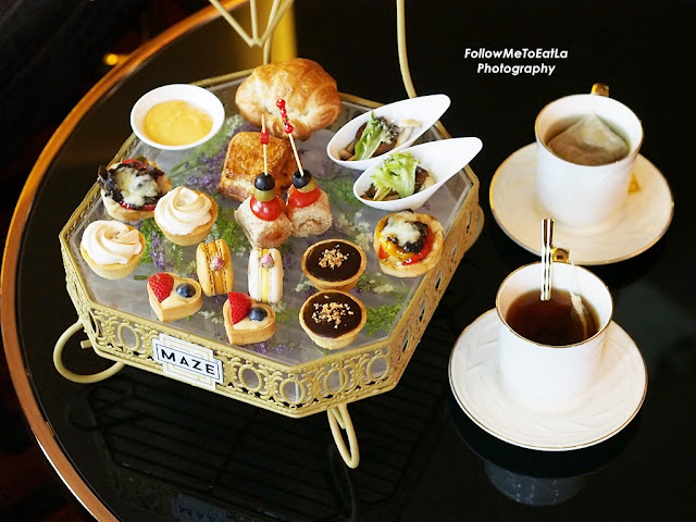 High Tea At MAZE Gin Parlour & Coffee Saloon At Menara Lien Hoe Petaling Jaya