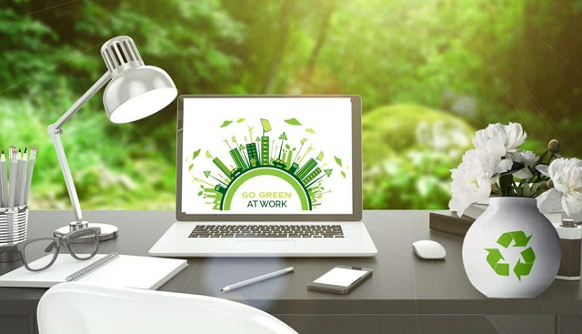 how business owners cultivate greener workplace improve company sustainability eco-friendly startup