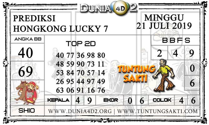 "Prediksi Togel ""HONGKONG LUCKY 7"" DUNIA4D2 21 JULI 2019"