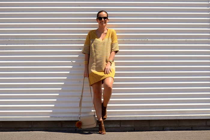zara-jacquard-yellow-mini-dress-outfit