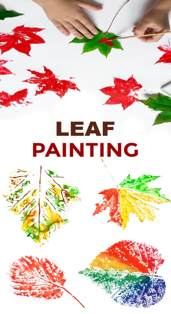 Leaf Painting Ideas