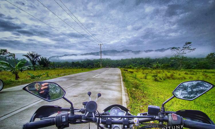 Modifikasi Motor : Yamaha Vixion ganti Stang Suzuki TS125 Trail