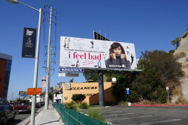 I Feel Bad TV series billboard