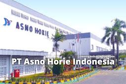 Lowongan Kerja PT Asno Horie Indonesia Via Email