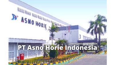 Lowongan Kerja PT Asno Horie Indonesia