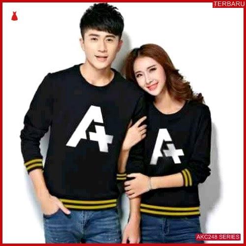 AKC248S25 Sweater Couple A Anak 248S25 Pasangan Rib BMGShop