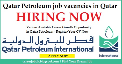Qatar Petroleum job vacancies in Qatar