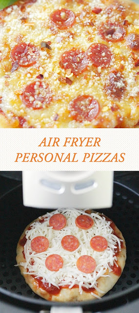 AIR FRYER PERSONAL PIZZAS