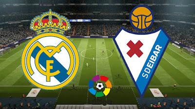 بث مباشر مباراة ريال مدريد ضد إيبار مباشر اليوم 14-6-2020 بالدوري الاسباني