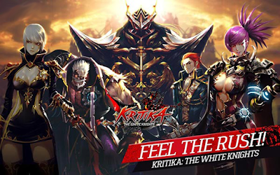 Kritika The White Knights Mod Apk v2.38.4 Unlimited HP/MP & Attack Maxed Out Terbaru