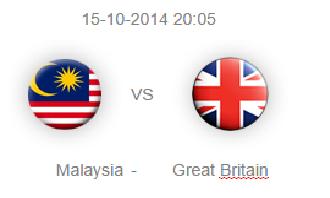 Malaysia Vs Great Britain Hoki Piala Sultan Johor 2014