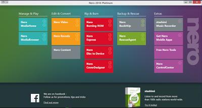 تحميل برنامج النيرو الجديد كامل Nero 2016