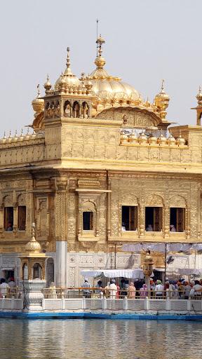 The Golden Temple Mobile Wallpaper