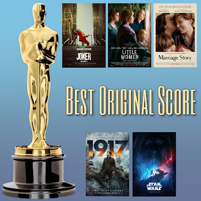 Photo: Best Original Score Oscars nominees from Star Wars: Rise of Skywalker, Joker, 1917, Little Women and Marriage Story