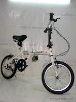 3 Sepeda Lipat DoesBike 1601 Convoy 16 Inci