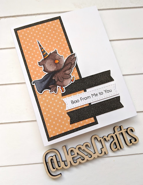 My Favorite Things MFT Spooktacular Friends Halloween Card by Jess Crafts