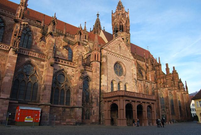 4. Münster, Freiburg, Southwestern Germany