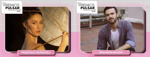 Premios Pulsar 2021 destaca a Francisca Valenzuela, Benjamín Walker, Chini.png y Bronko Yotte entre sus nominados