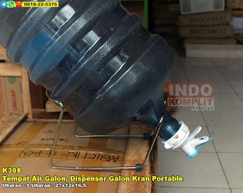 Tempat Air Galon, Dispenser Galon Kran Portable