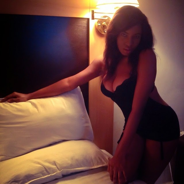 chika ike bedroom picture